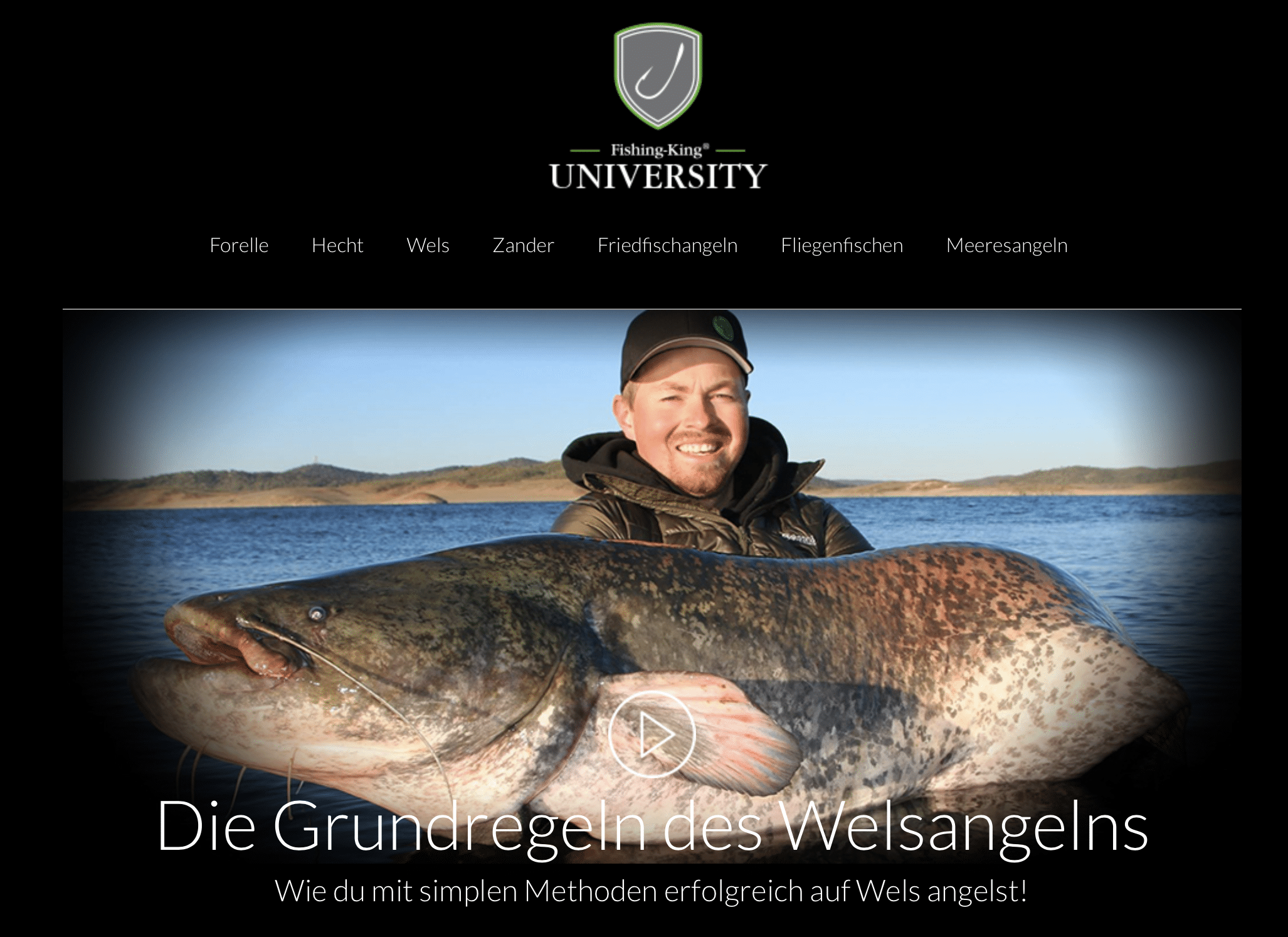 Wels Fishing-King-University Carsten Zeck Angeln