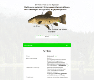 Neue Funktionen Fishing-King Onlineakademie